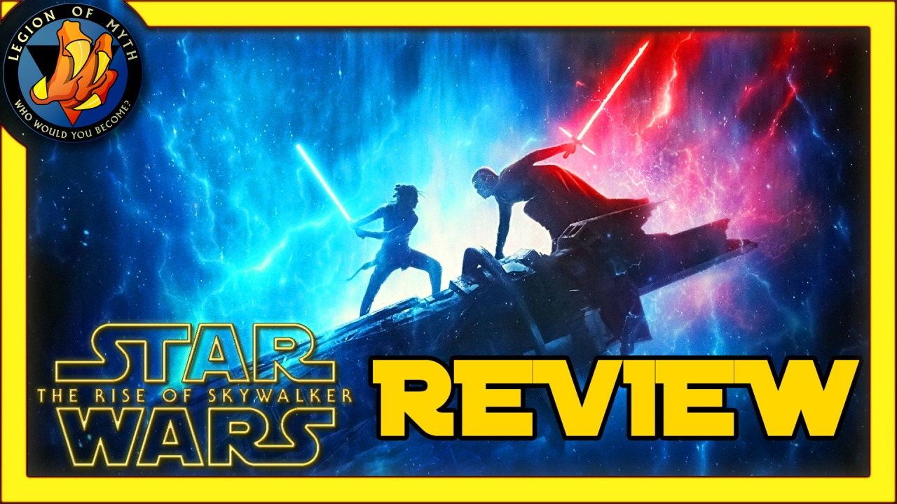 STAR WARS: THE RISE OF SKYWALKER review andcommentary