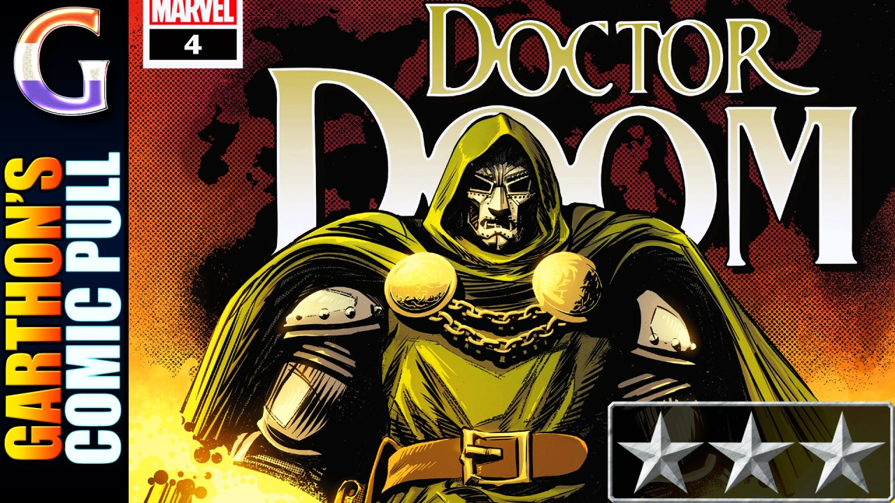 DOCTOR DOOM #4 – [😌😌😌] – Doctor Doom just wants to be happy