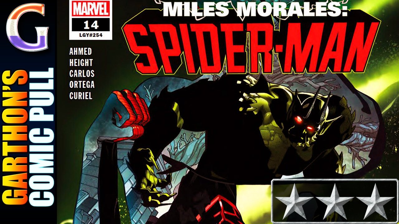 MILES MORALES: SPIDER-MAN #14 – [😌😌😌] – Spider-Man -vs- Ultimate Green Goblin