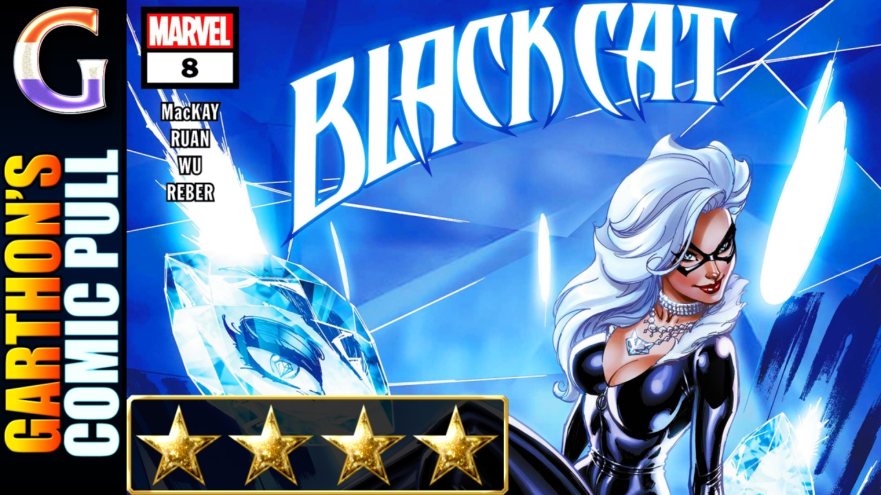 Comic book review of BLACK CAT #8 – A [💪💪💪💪] must read!