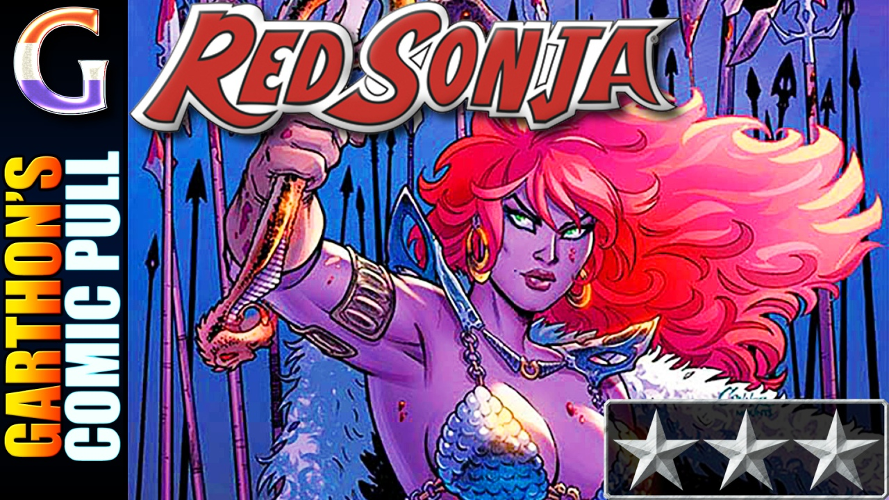 Comic book review of RED SONJA #12 – A [😌😌😌] conclusion to the war and series