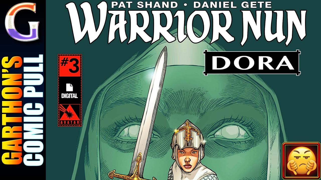 WARRIOR NUN: DORA #3 review – This [💩] book… this storySUCKS!