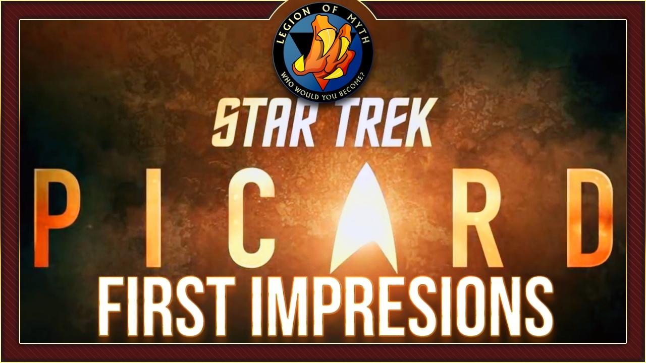 STAR TREK: PICARD – (First Impressions & Debate) – Is Patrick Stewart too old forPicard?