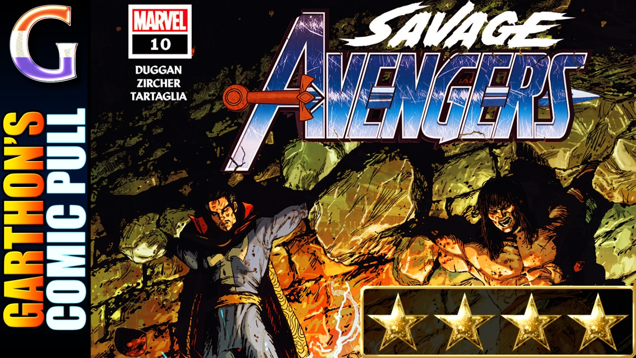 SAVAGE AVENGERS #10 (Review) – A [💪💪💪💪] comic; most importantly it is FUN!