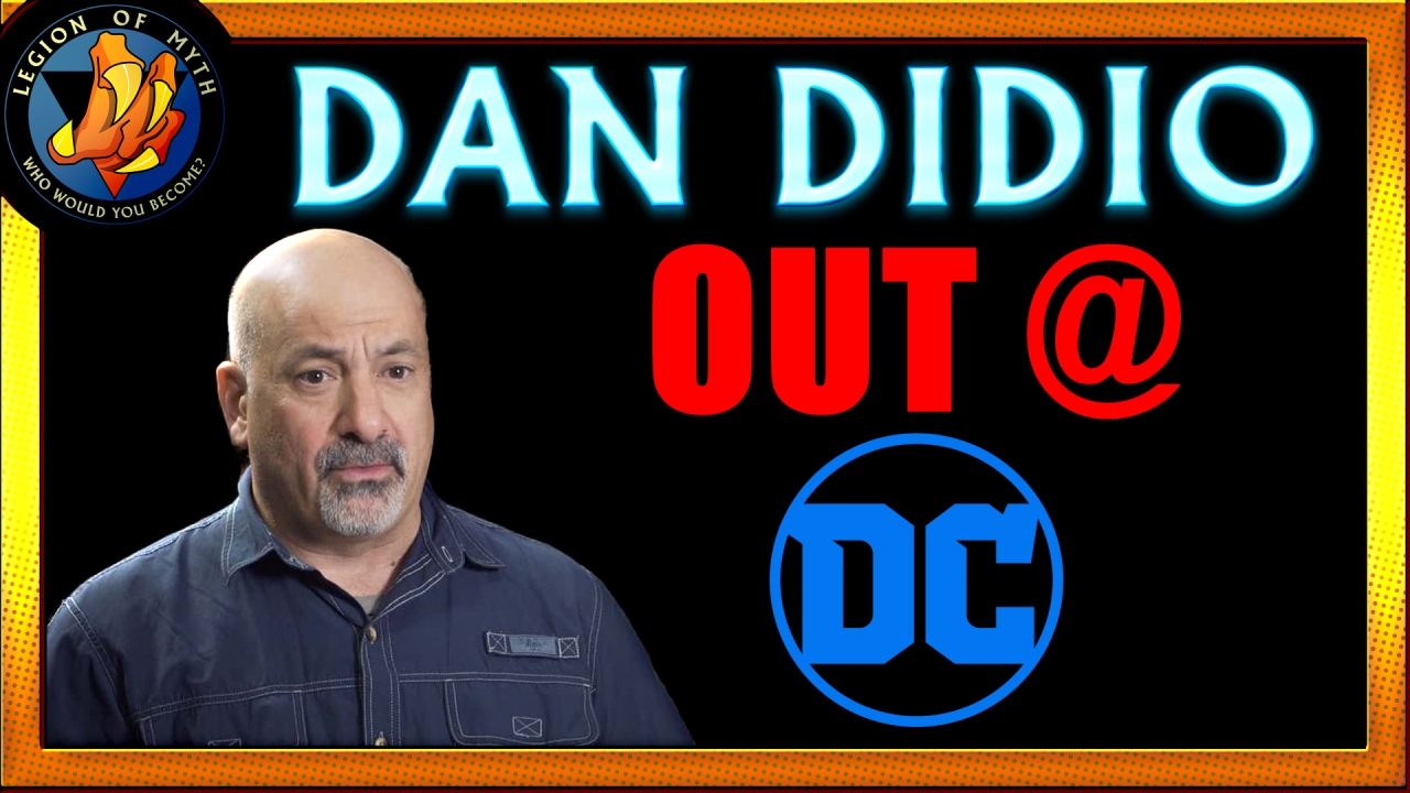 Dan DiDio is OUT at DC Comics