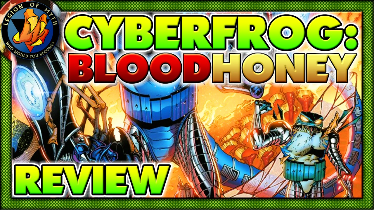 Review of CYBERFROG: BLOODHONEY – A near perfect [💪💪💪💪½] introduction