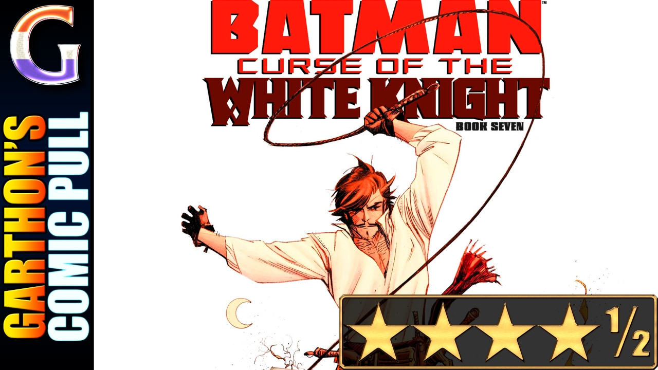 BATMAN: CURSE OF THE WHITE KNIGHT #7 – [💪💪💪💪½] – Batman burns it all down!