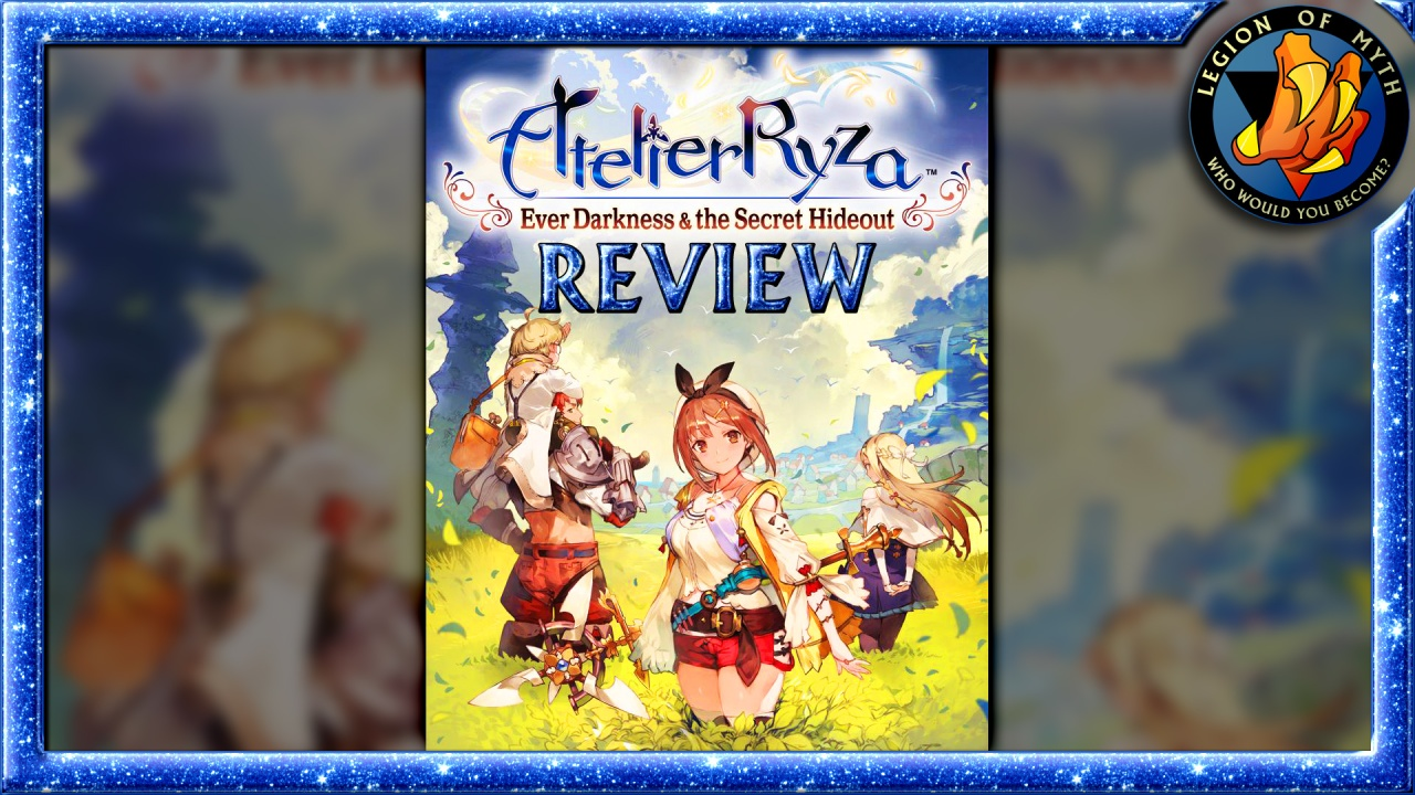 ATELIER RYZA: EVER DARKNESS & THE SECRET HIDEOUT – A fun [😊😊😊½] game with bad pacing