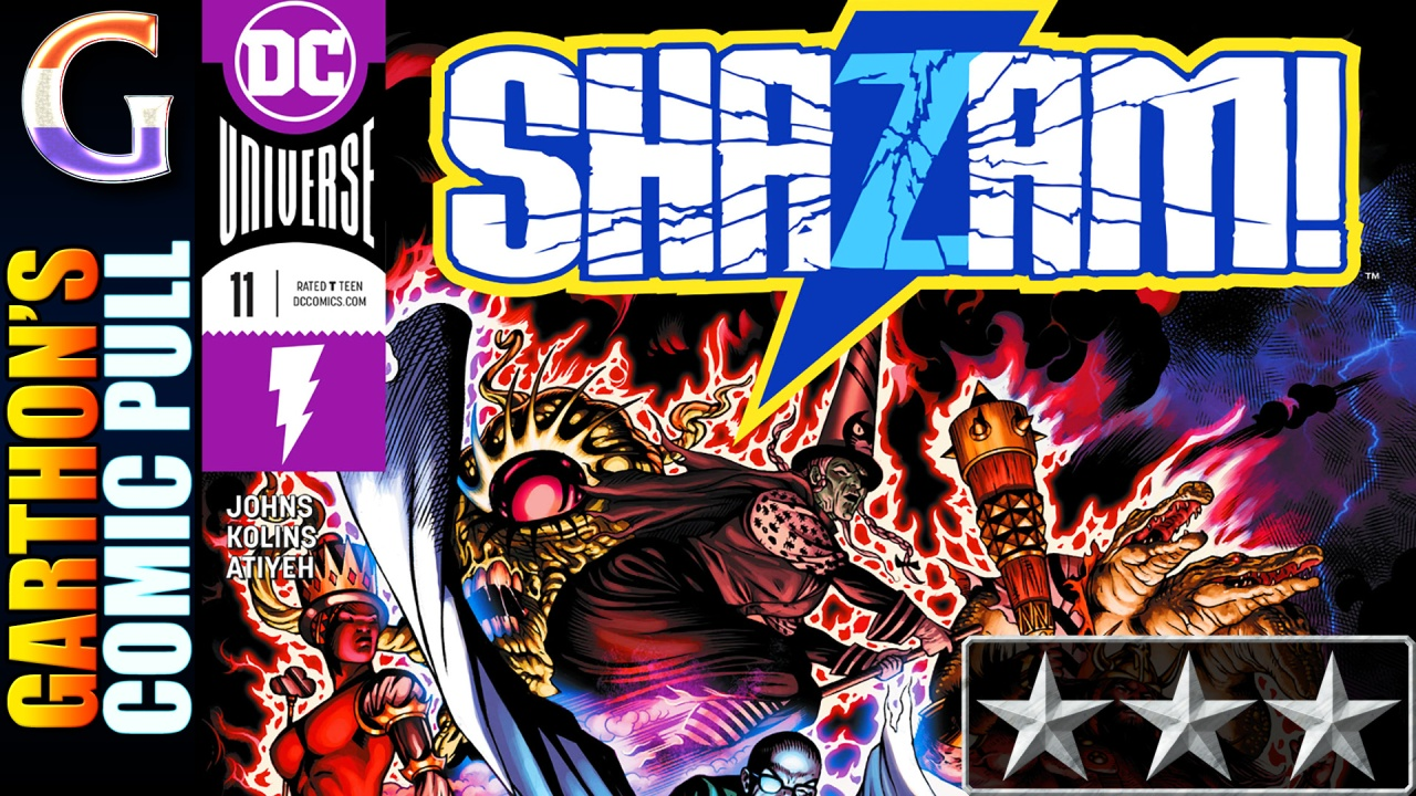 SHAZAM! #11 – [😌😌😌] – Daddy issues, ear caterpillars, and more!