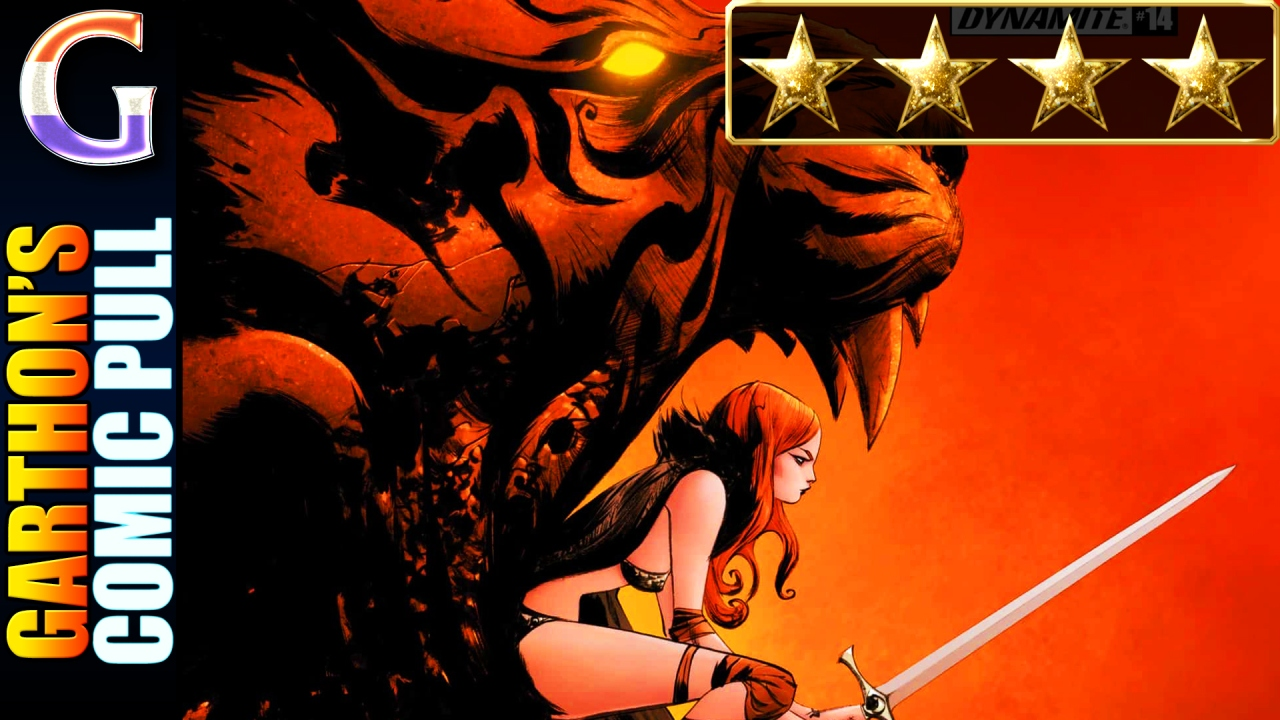 Review of RED SONJA (vol. 5) #14 – [💪💪💪💪] – Well written; good direction and fun.
