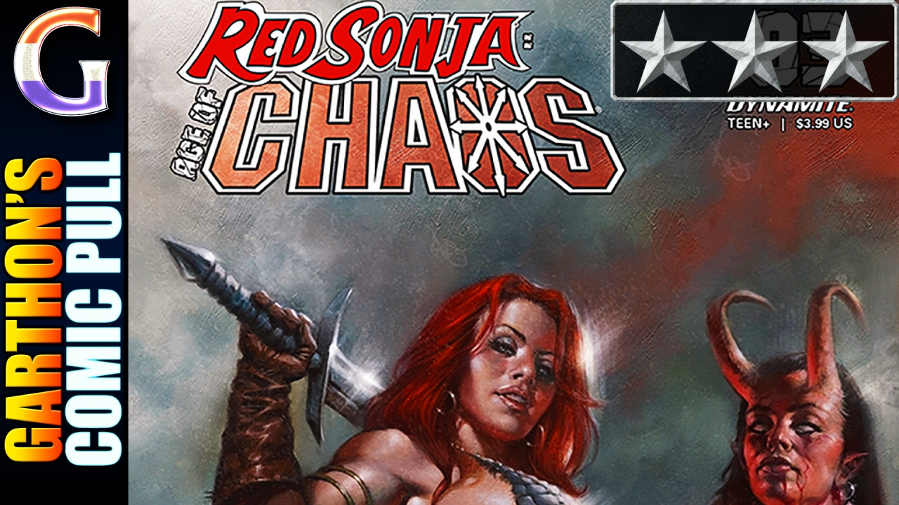 Review of RED SONJA: AGE OF CHAOS #3 – An interesting [😌😌😌] blast to the past