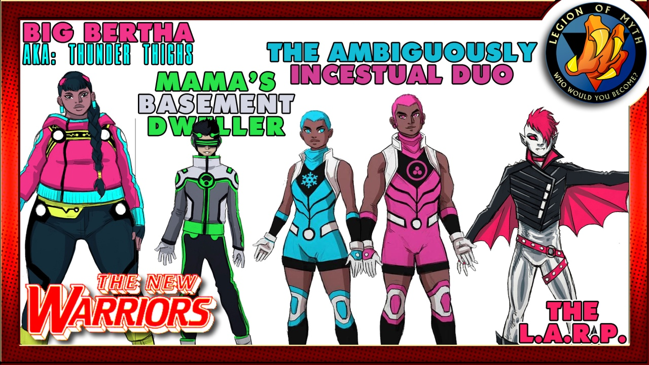 The TRUTH about Marvel Comics new NEW WARRIORS – Social Agenda Stupidity