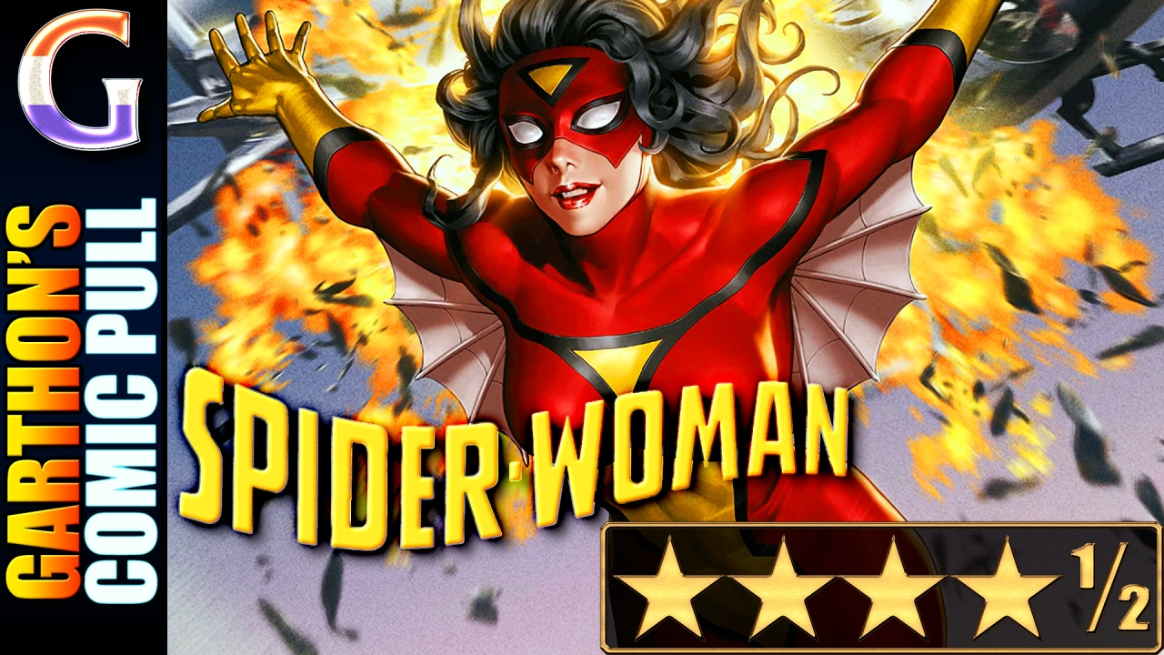 Review of SPIDER-WOMAN #1 – [💪💪💪💪½] – It does everything right