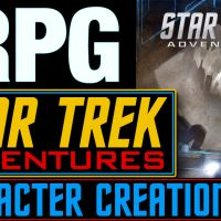 STAR TREK ADVENTURES - How to create a character