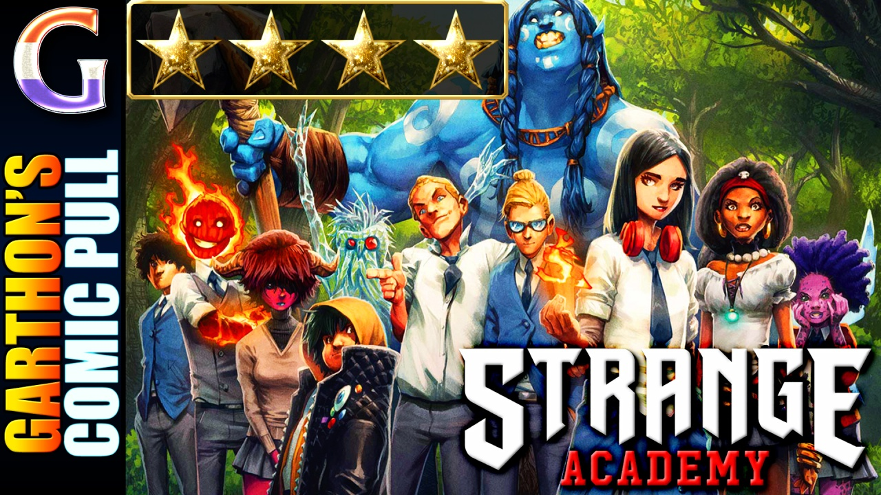 Review of STRANGE ACADEMY #1 – [💪💪💪💪] – Better than expected