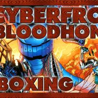 UNBOXING | CYBERFROG: BLOODHONEY - (Team up & chromium covers, ashcan & amphibionix)