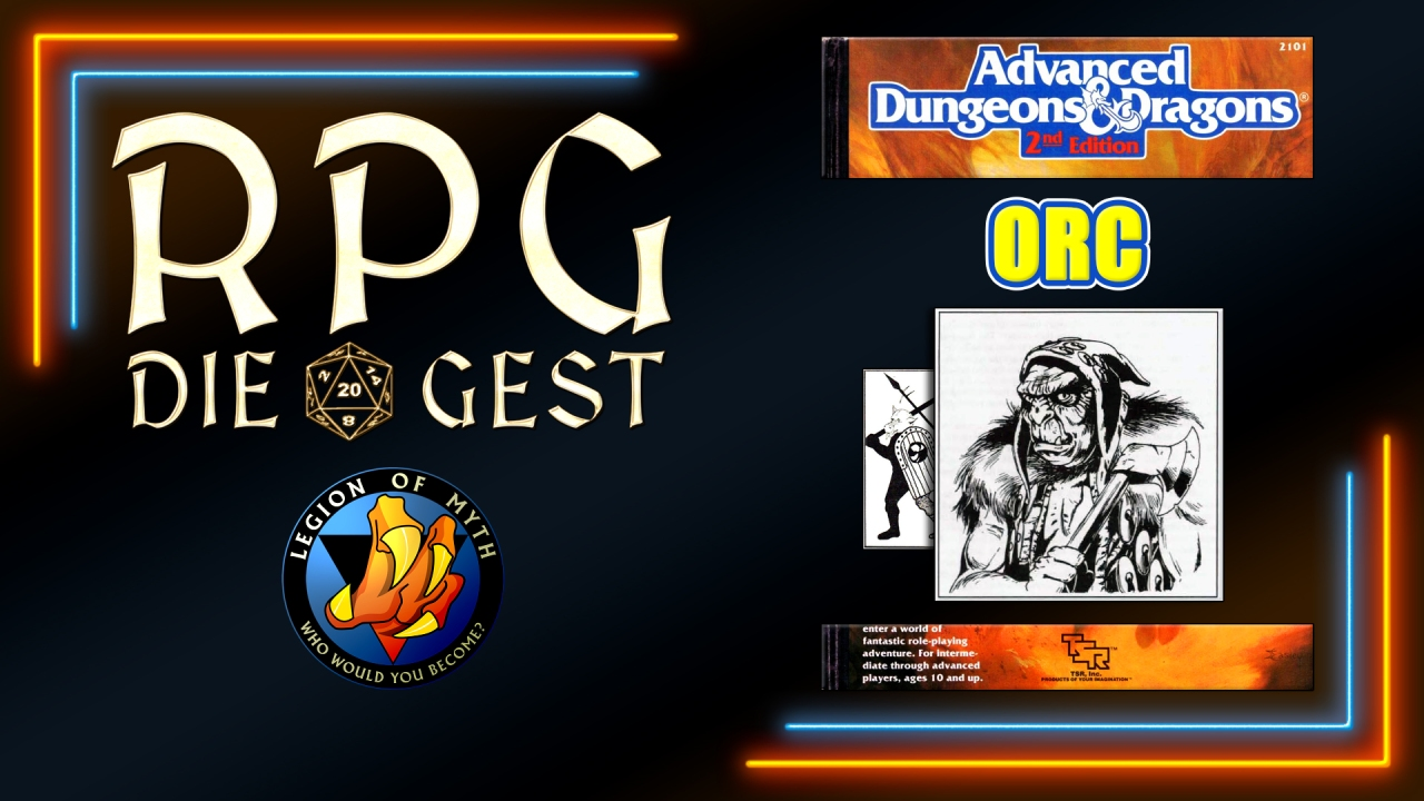 [#13-1.3] – How to use the ORC in Advanced Dungeons & Dragons