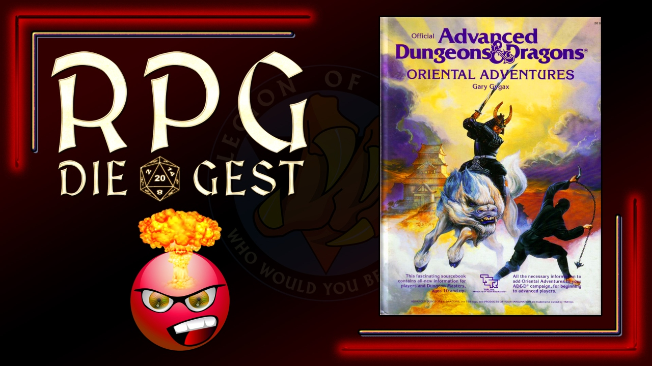 [#05-2] – Is AD&D ORIENTAL ADVENTURES Racist?