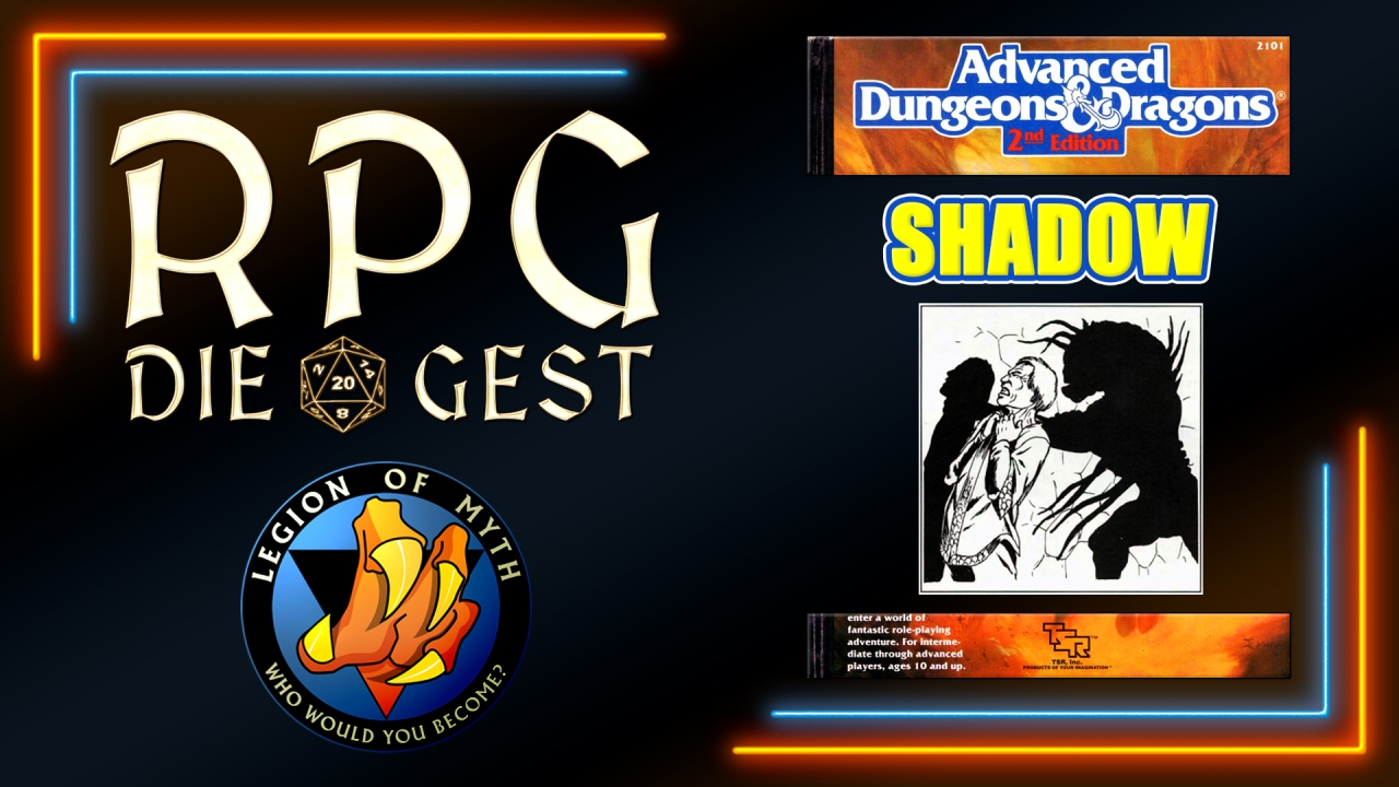 [#20-1.2] – How to use the SHADOW in AD&D 2E