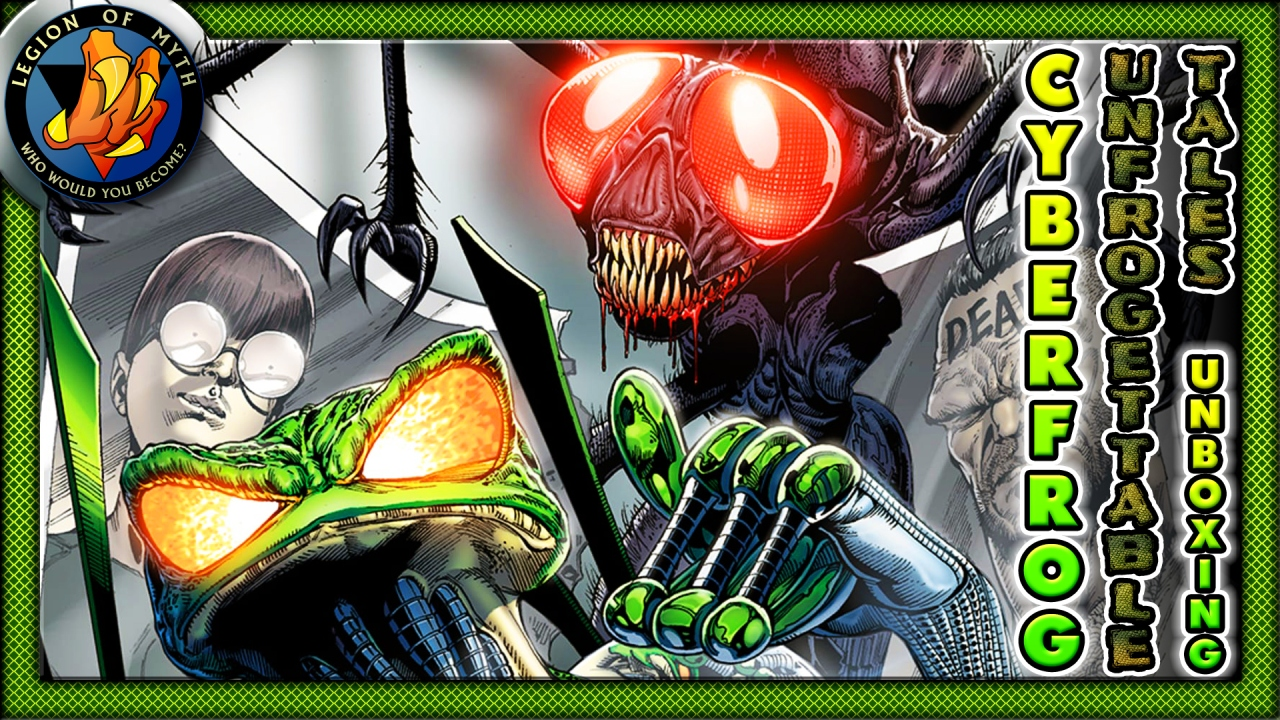 UNBOXING | CYBERFROG: UNFROGETTABLE TALES