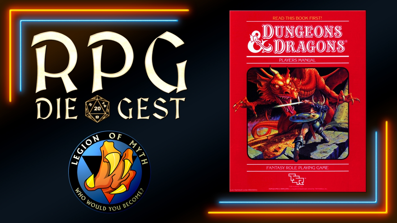 [#22-1] – Why #BECMI Basic D&D is the best for new D&D players (with DM Bluddworth)