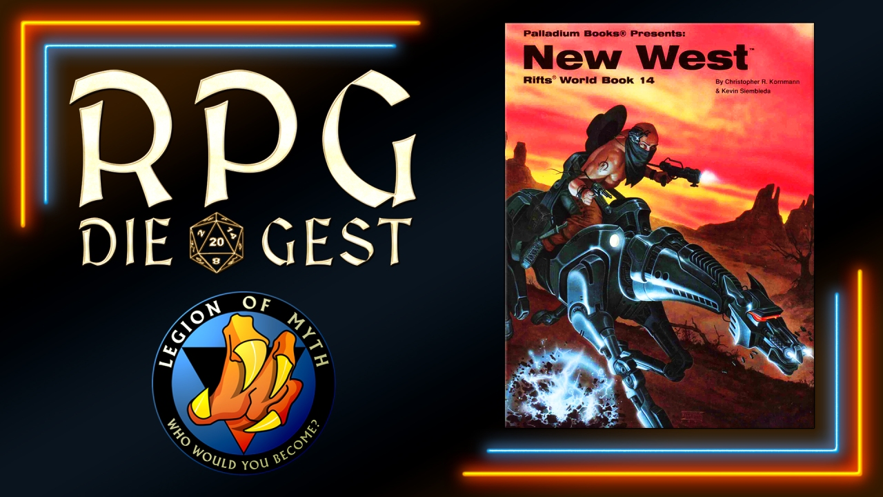 [#23-1] – Palladium Books – Rifts World Book 14: New West