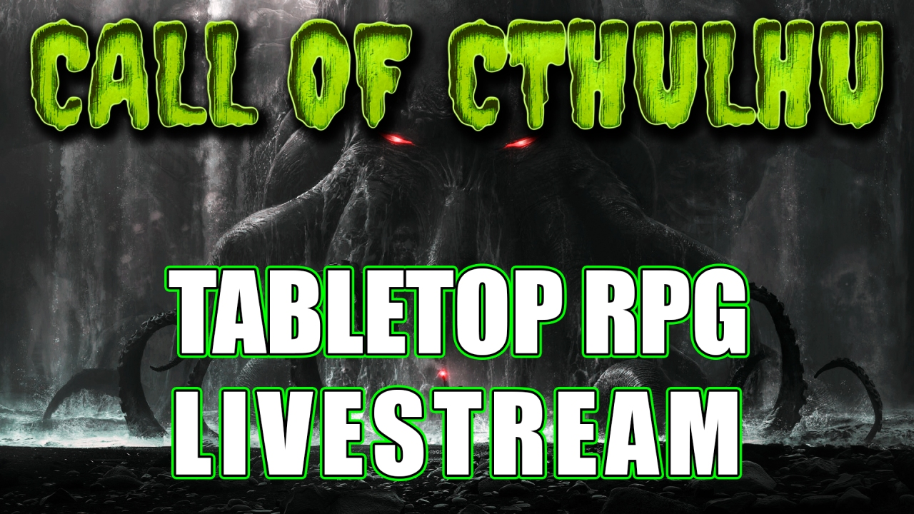 🐙 CALL OF CTHULHU 🍄 Shroomfellas 🍄 Live play (Part 1 of 3)